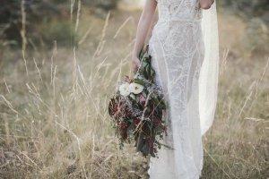 styled wedding photo